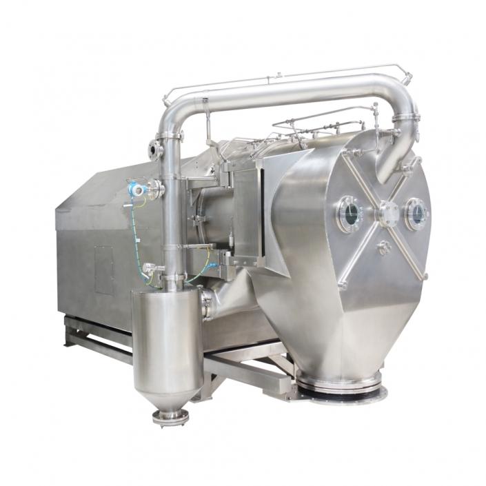 Inverting filter centrifuge HF