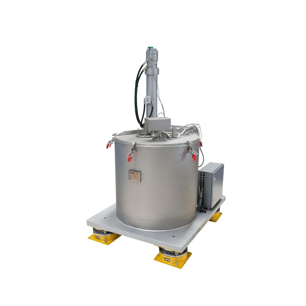 HEINKEL Vertical peeler centrifuge - Gypsum design