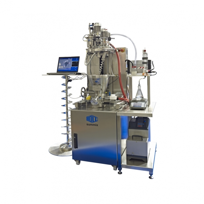 Laboratory Conical Dryer & Mixer