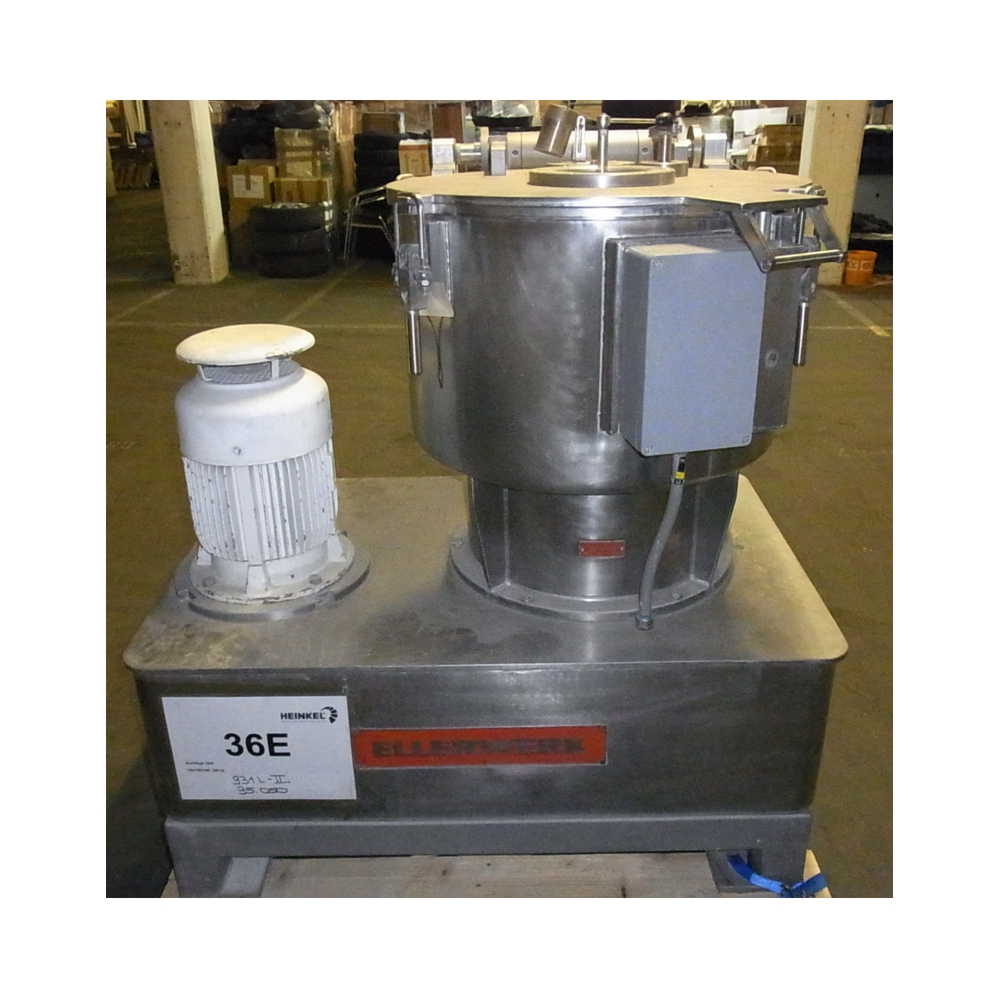Vertical Centrifuge top discharge - Year 1995