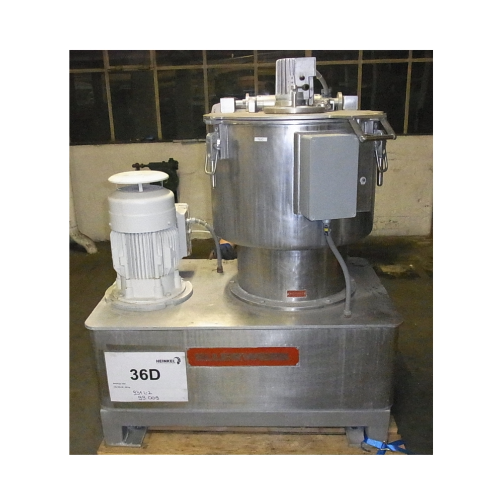 Vertical Centrifuge top discharge - Year 1999