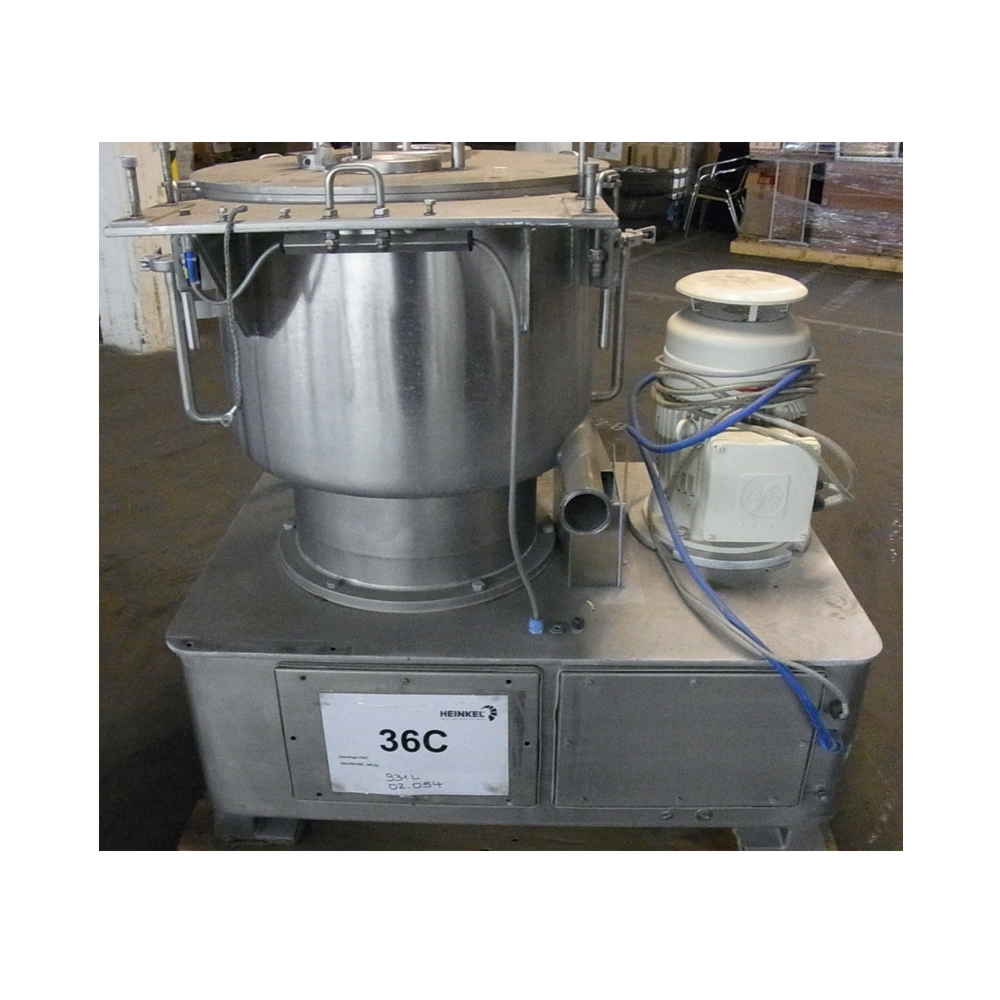 Vertical Centrifuge top discharge - Year 2002